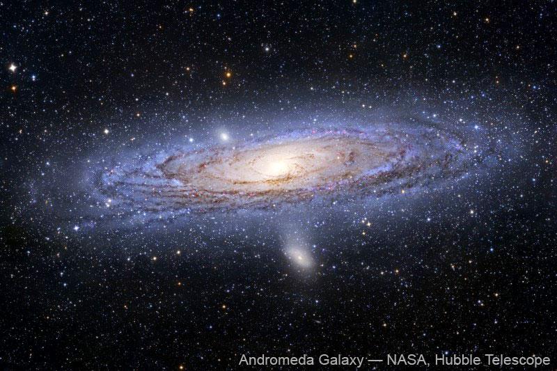 Semana - 1251 - 3 Andromeda Galaxy Hubble
