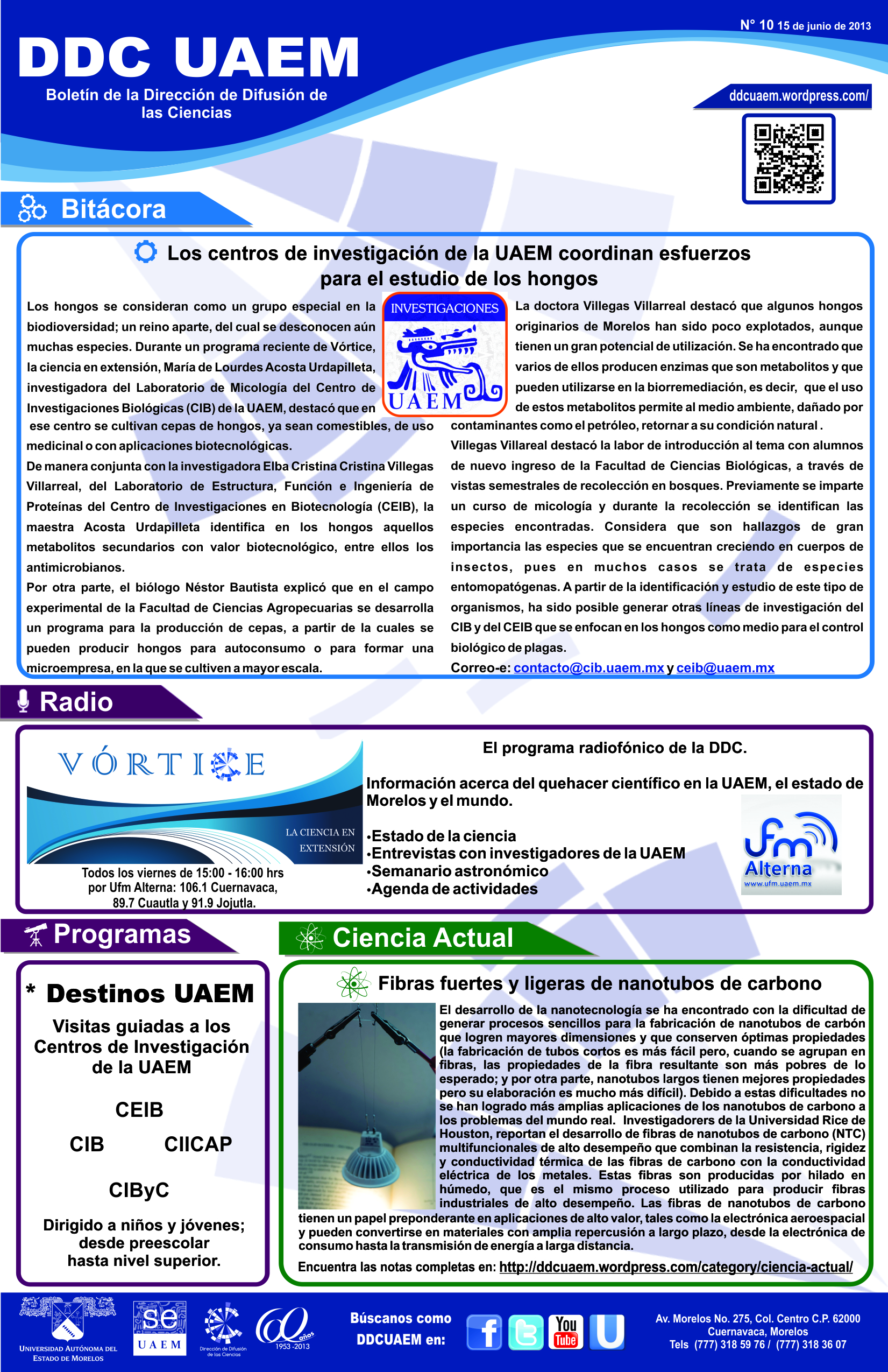 Boletín DDC 10 - RS