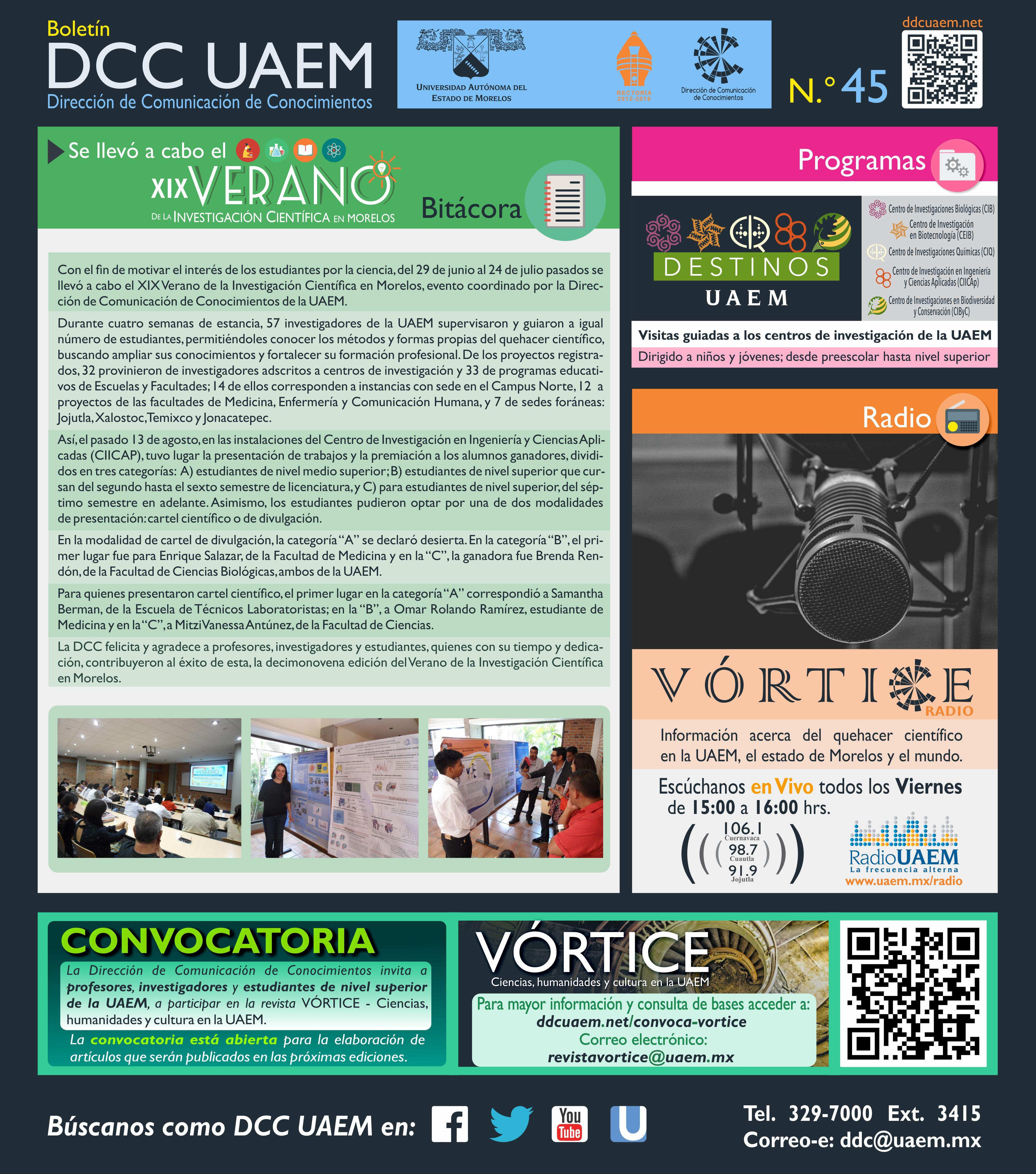 Boletín DCC - 45